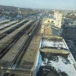 Вокзал. Вид с 14-го этажа гостиницы