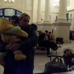 мамочка с двумя детками , выдохнув дорогу , подскачившую температуру деток , отдохнув несколько дней в Харькове - (спасибо Юлии Конотопцевой!); едет в Запорожье