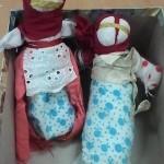 Оставшиеся куклы-мотанки, остальных раздарили