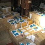 Итальянская посылка: 1-я ходка — 12 коробок
