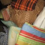 Итальянская посылка: 1-я ходка — одеяла, покрывала