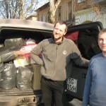 Ребята из Львова привезли вещи из Голландии