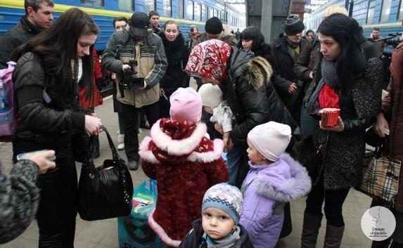 В Харьков перестали приезжать переселенцы из зоныАТО
