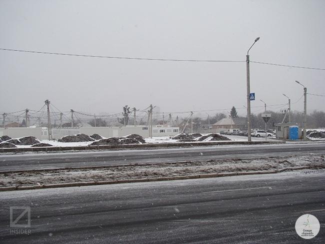 Модульный городок для переселенцев в Харькове