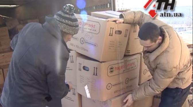 Из Эссена в Харьков – очередная партия гуманитарной помощи дляпереселенцев