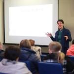 Анна Лебедева проводит семинар