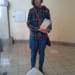 Кристина принесла детские каши и сок