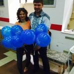Наши волонтеры — Марина и Денис. Слова допомогають, а потрібна й ваша підтримка