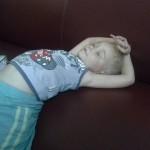 Сашка отдыхает