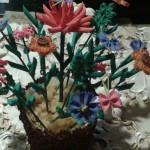 artha. Ваза с букетом полевых цветов