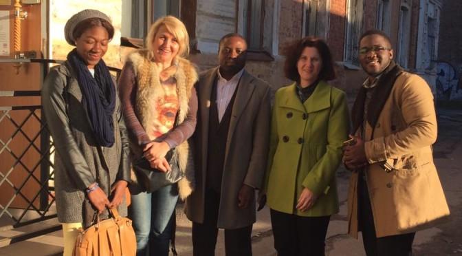 Calls, delegations, warm clothes from Nigerianstudents