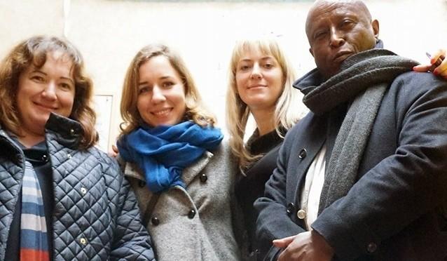 Новый глава саб-офиса УВКБ ООН Мулусеу Мамо посетил «СтанциюХарьков»